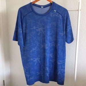 Lululemon blue T shirt